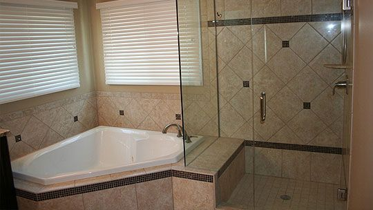 Heavy European Frameless Tub Shower Combination | Bathroom ...