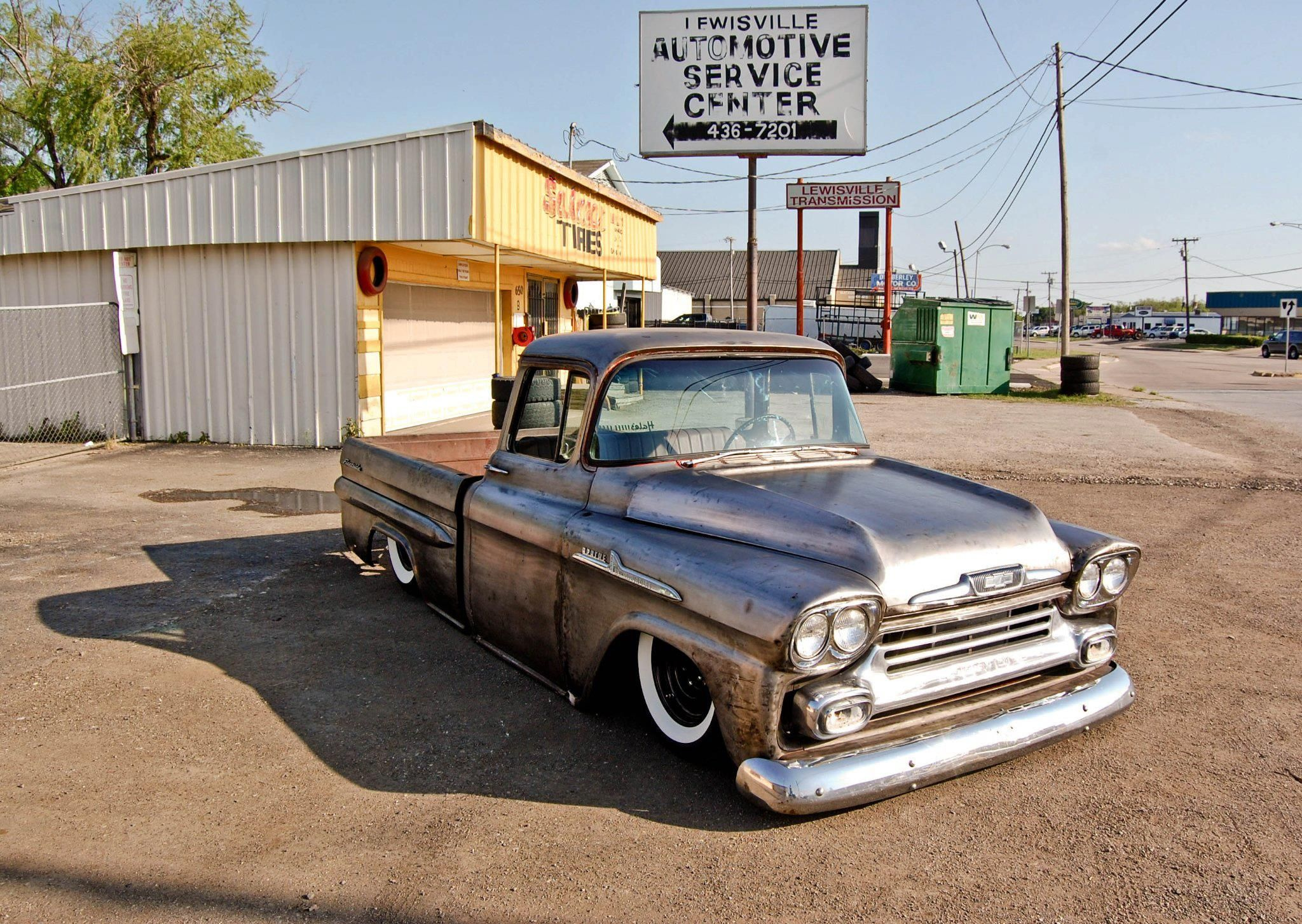 1958 chevrolet apache in bare metal from hale s speed shop