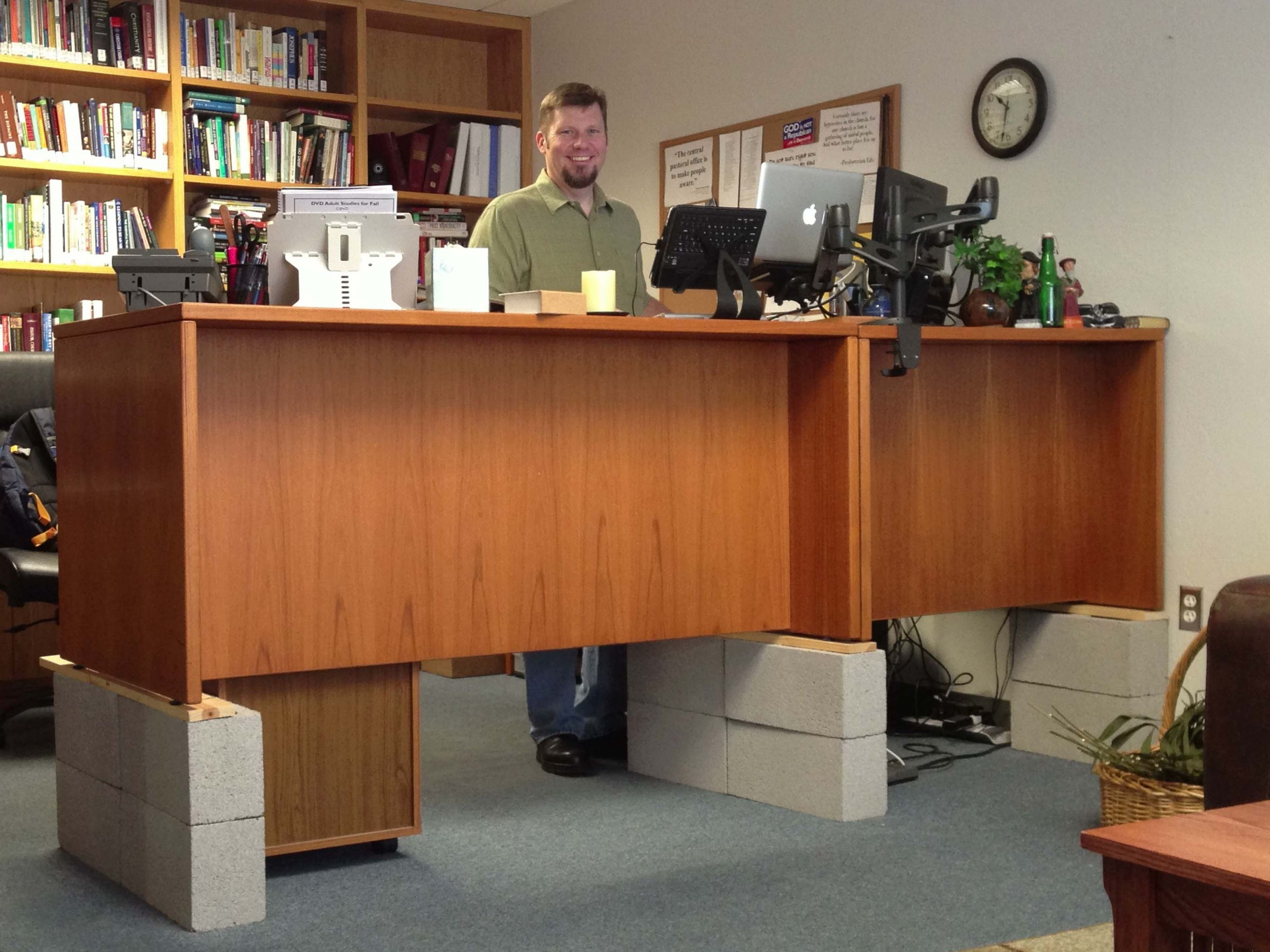 Pin By Neby On Home And Garden Pinterest Desk Diy Standing Desk