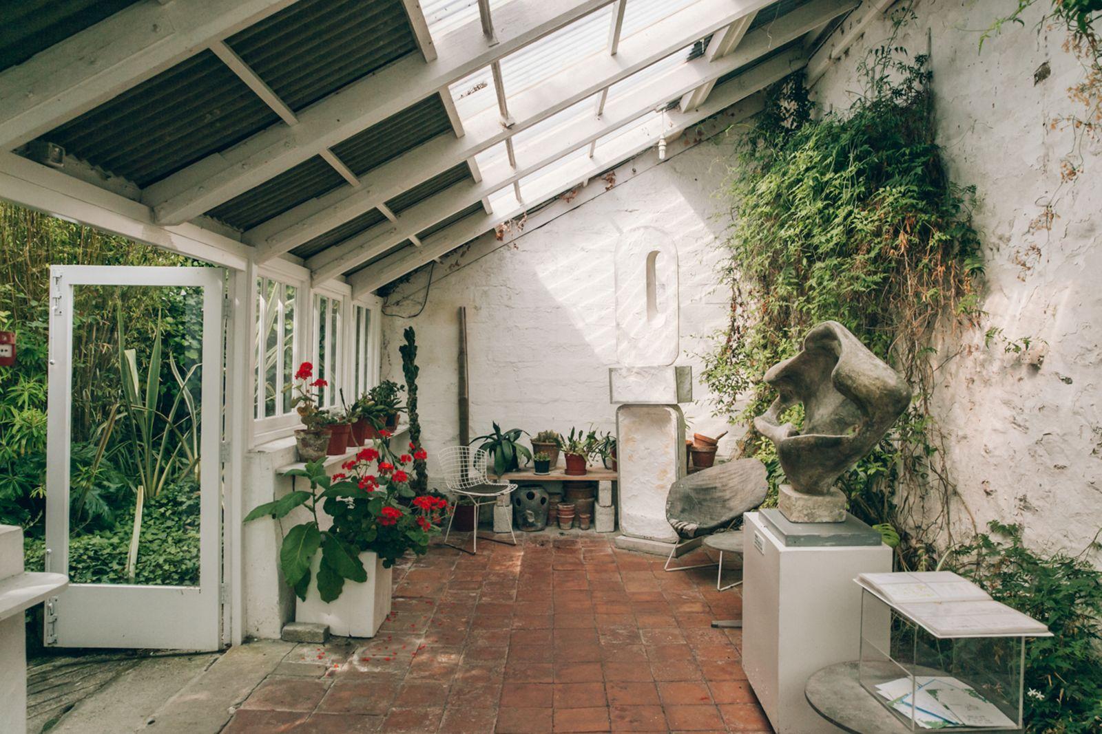 12 Incredible Artists Homes You Can Visit Artist House Garden Studio Barbara Hepworth