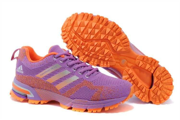 new products 1903d be223 1767  Adidas Marathon Tr 13 Dam Orange Violet SE282300QEHoVEG