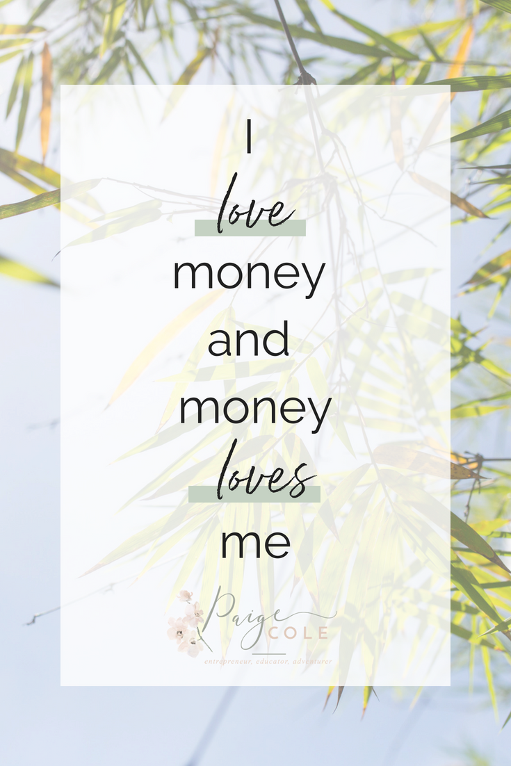 I Love Money And Money Loves Me 77 Affirmations Want To Start Practicing Telling Yourself Empowering Affirm Affirmations Manifestation Law Of Attraction Money