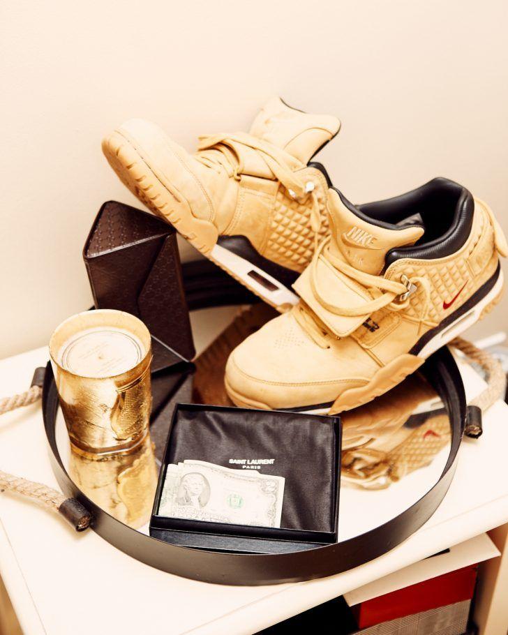 061c00230b44 Inside Complex Magazine s Joe La Puma s Closet  Gold Nike Sneakers