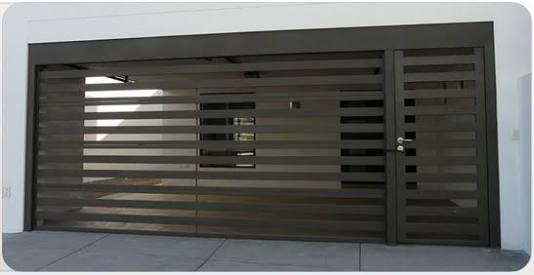 The 25 best puertas para cochera ideas on pinterest - Puertas de cochera ...