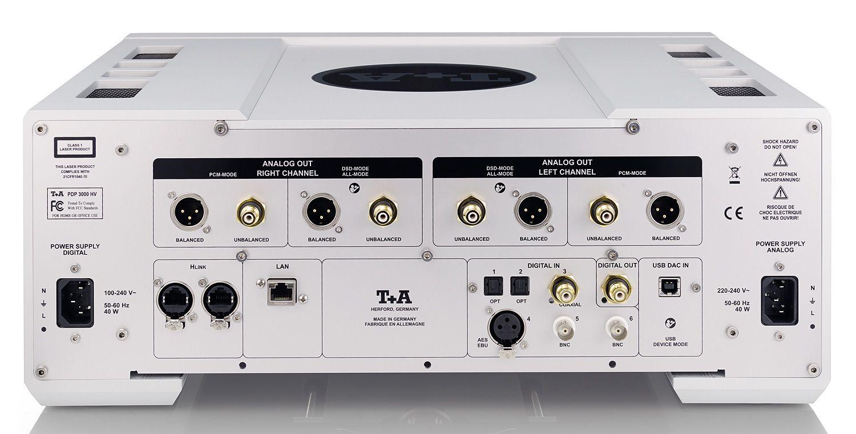 T+A PDP 3000 HV Player Rear | Audio Electronics | Pinterest | Audio