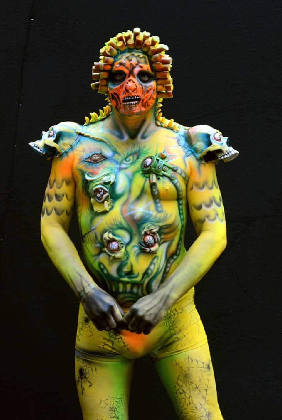 Body Painting Festival In Austria In Pictures In 2020 Body Painting Festival Body Painting Body Art Painting