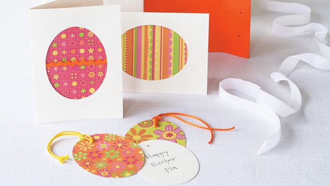 How to make easter gift tags and cards here comes peter cottontail how to make easter gift tags and cards negle Choice Image