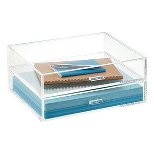 Our Landscape Acrylic Paper Drawers Are Clearly A Beautiful Way To Organize  Paperwork. Available In