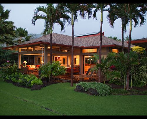 Ke 39 ei beach house tropical exterior hawaii by for Tropical beach house plans