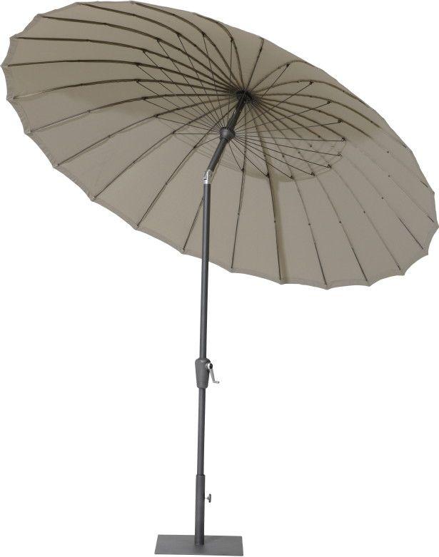 asia sonnenschirm aluminium shanghai 300 sonnenschutz kurbel parasol terrassenideen. Black Bedroom Furniture Sets. Home Design Ideas