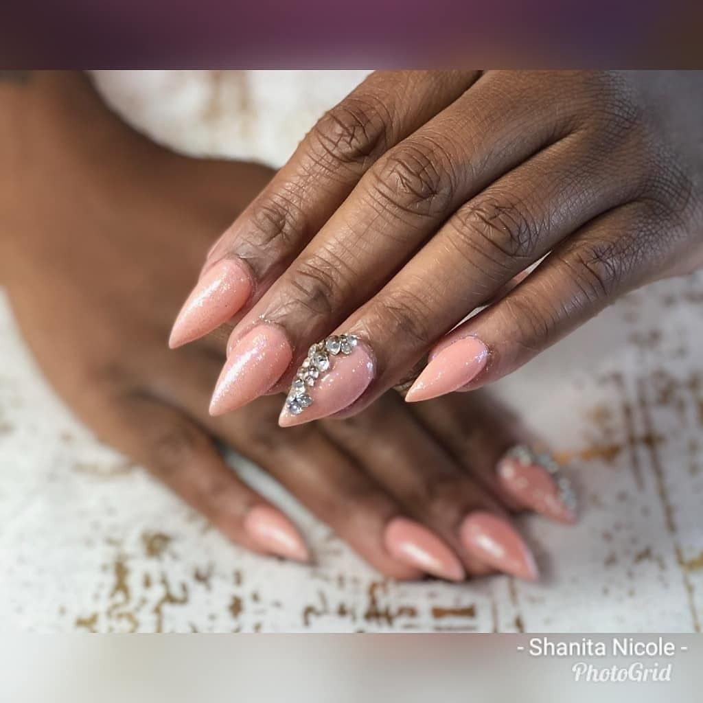 My Boo's Nails 💅😍..... Y'all Go Follow My Client