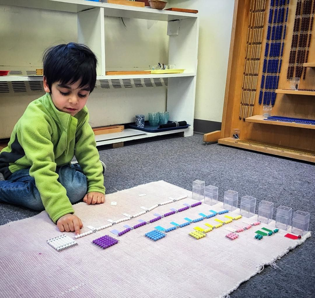 Montessori Short Chains For The Squares Of Numbers