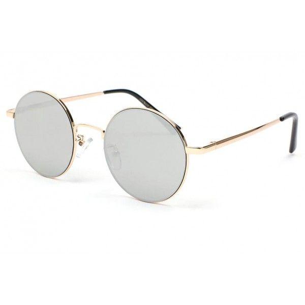Eye Wear Lunettes Soleil Babe avec monture dorée verres fumé doré foncé - Femme teuq66GQ1