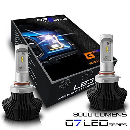Bps Lighting 9005 Headlight Conversion Led Bulb Kit With Philips Lumileds Luxeon Zes 8000