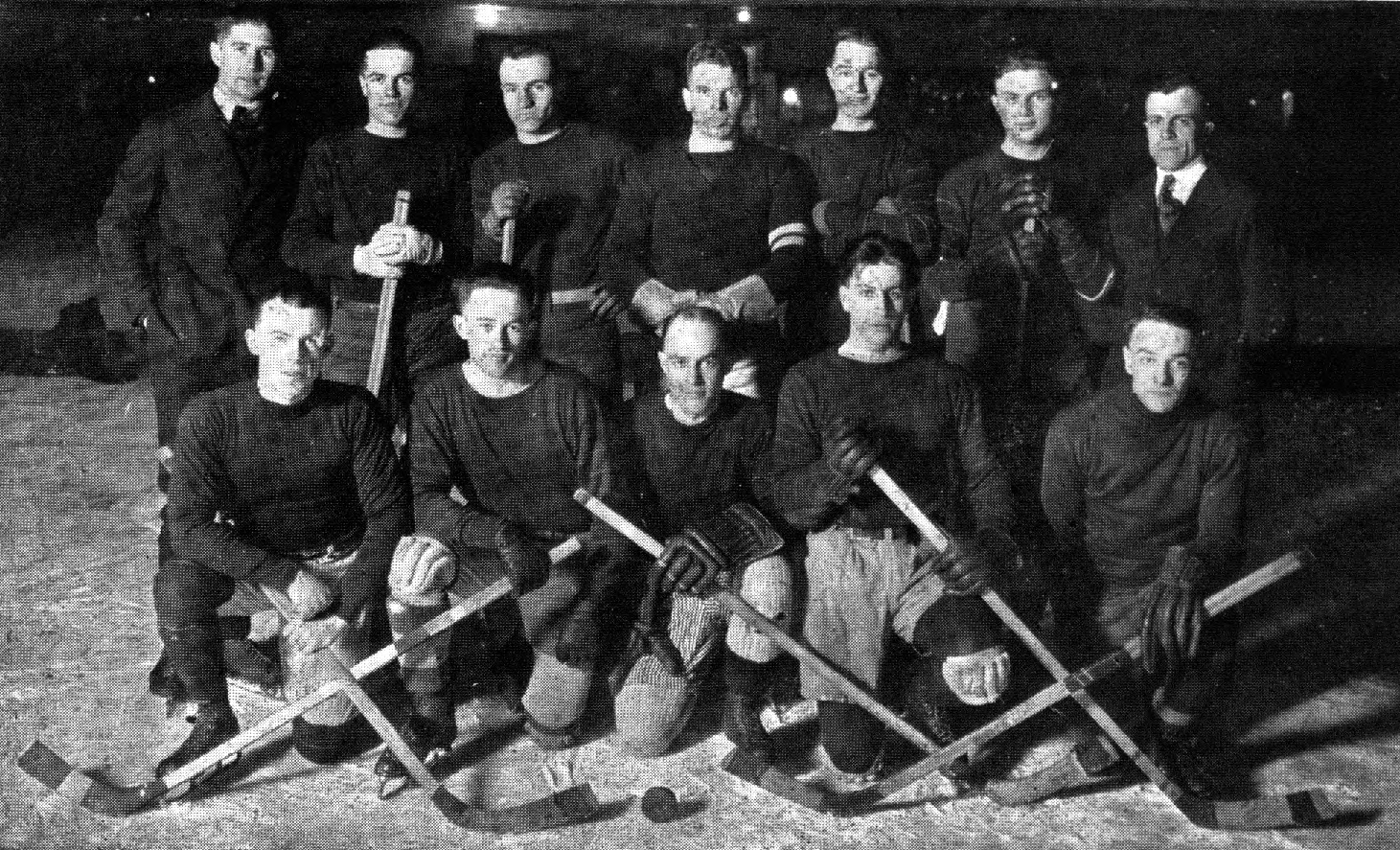 Source This Is A Picture Of Canadian National Hockey Team There