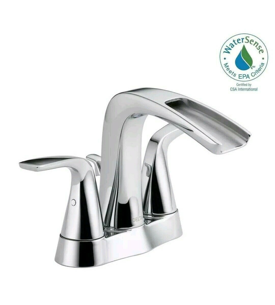 Details About Delta Bathroom Faucet 25724lf Eco Tolva 4 In 2