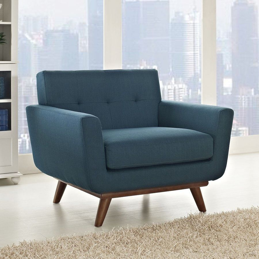 Reflecting A Mid Century Modern Design This Accent Chair Features