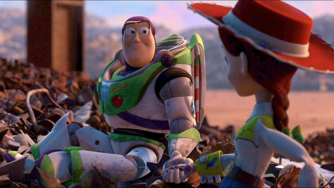 Buzz And Jessie My Weakness Buzz Jessie Youtube Jessie Toy Story Jessie And Buzz Toy Story