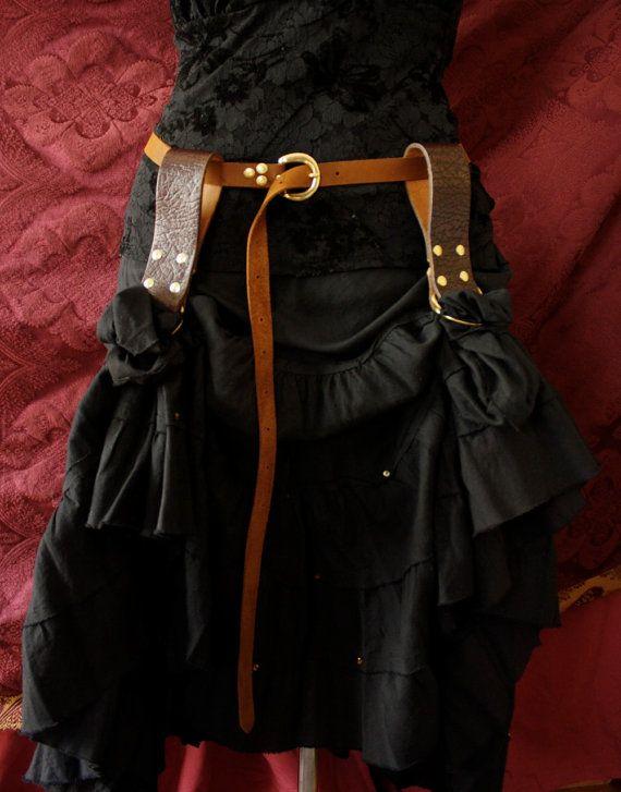 Ren Faire Skirt Hikes OR  belt loop stuff hanger by MyFunkyCamelot, $20.00