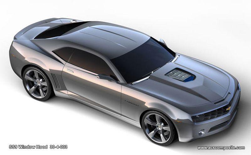 2010 2013 Camaro Ss9 Acs Supercharger Hood Camaro Concept Concept Cars Chevrolet Camaro