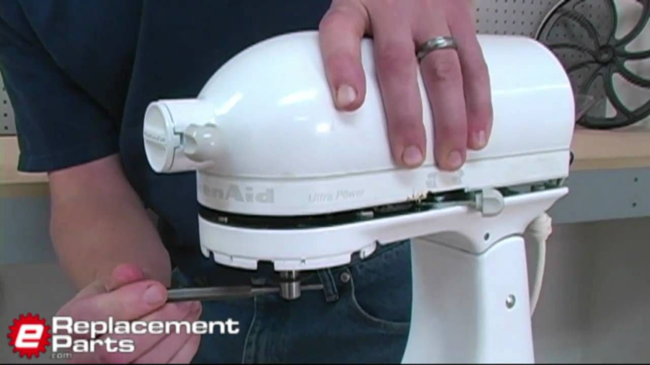 How to fix a kitchenaid mixer that isnt spinning