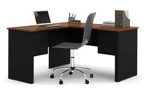 Meja Kantor Minimalis Bentuk Sudut Siku Siku Toko Mebel