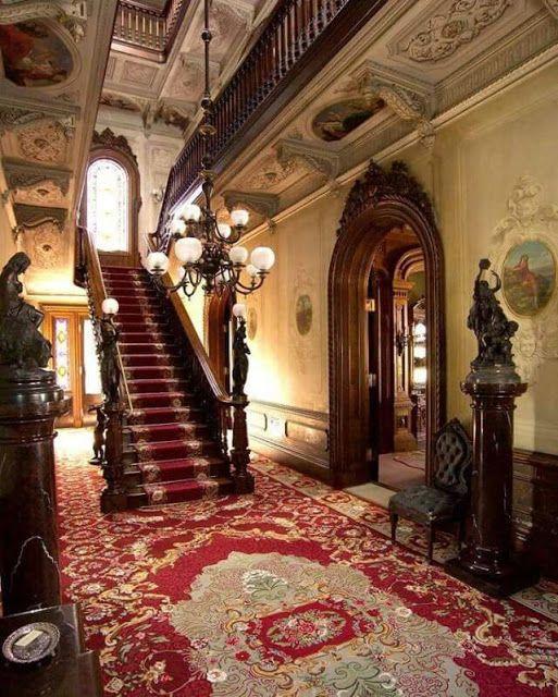 Imagenes Victorianas Casa Victoriana Casas Victorianas Casas Estilo Victoriano Interior De Mansion