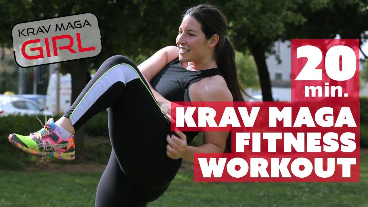 Krav Maga Girl 20 Min Krav Maga Fitness Workout Fitness