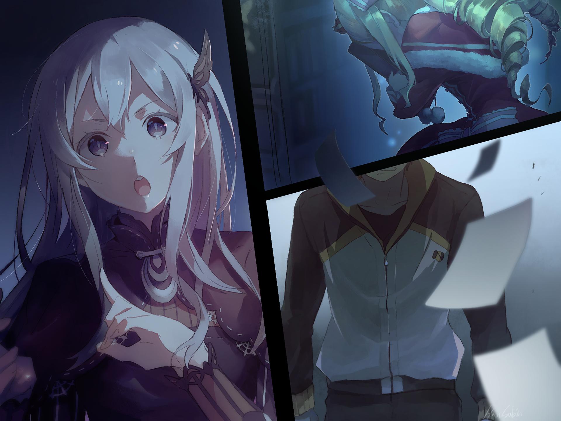 Anime Re Zero Starting Life In Another World Subaru Natsuki