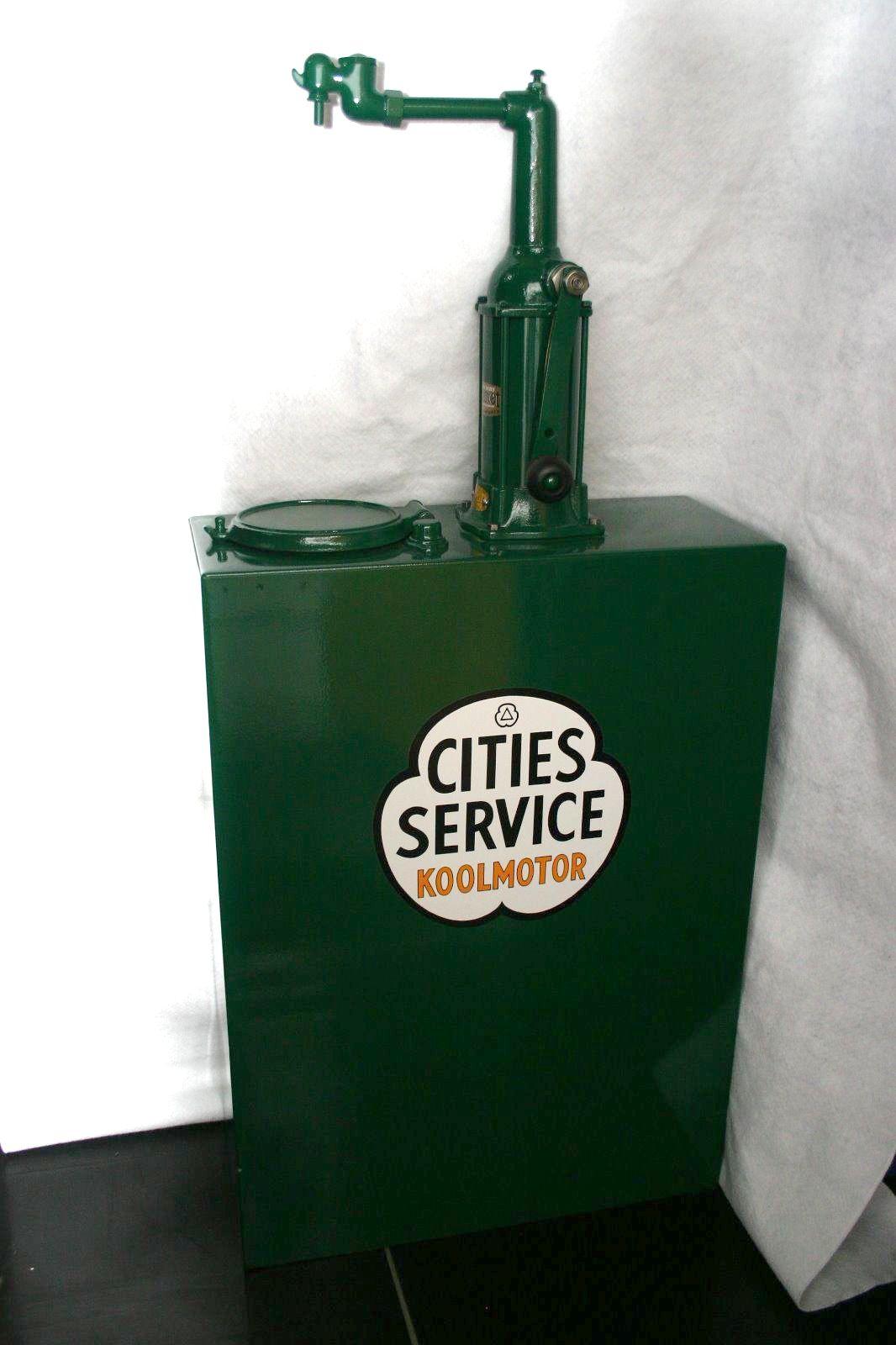 Bennett 30 Gallon Bulk Oil Pump Motor Oil Vintage Vintage Oil Cans Gas Pumps