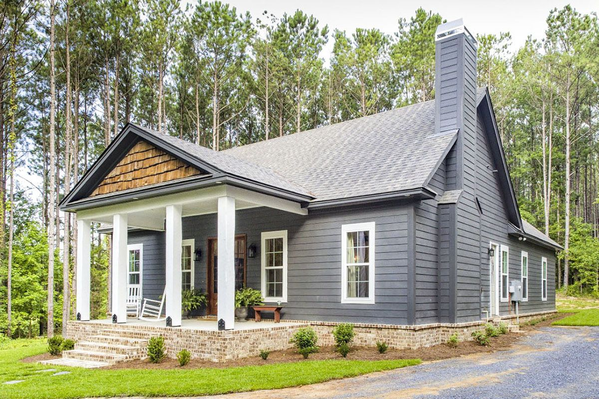 Plan 86339hh Storybook Bungalow With Large Front And Back Porches Bungalow House Plans House Plans Farmhouse House Architecture Design