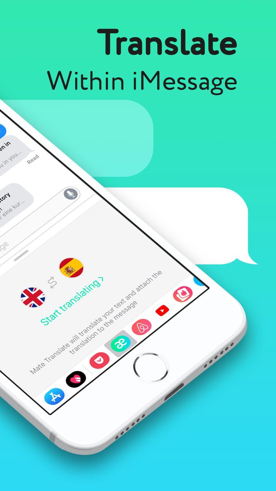 Mate ¨C Language Translator App ProductivitySoftwareios
