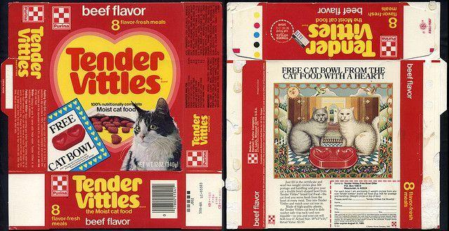 Tender Vittles Cat Food Purina Tender Vittles Beef Flavor