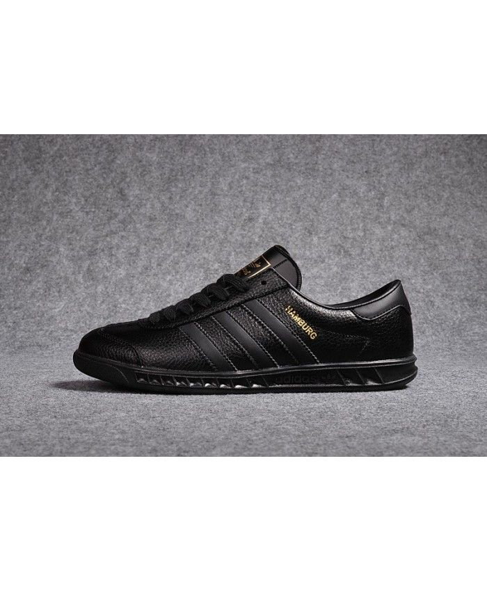2747a0d0c Adidas Hamburg All Black Trainers Sale