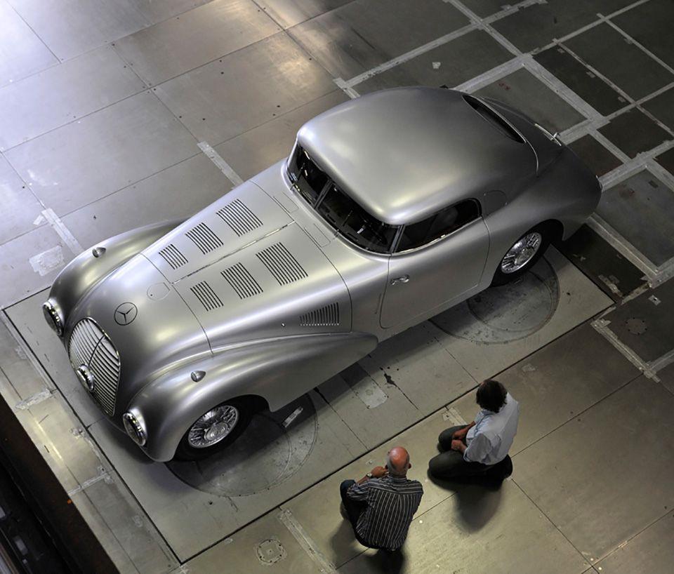 1938 Mercedes-Benz 540 K Streamliner 7 • TheCoolist - The Modern Design Lifestyle Magazine