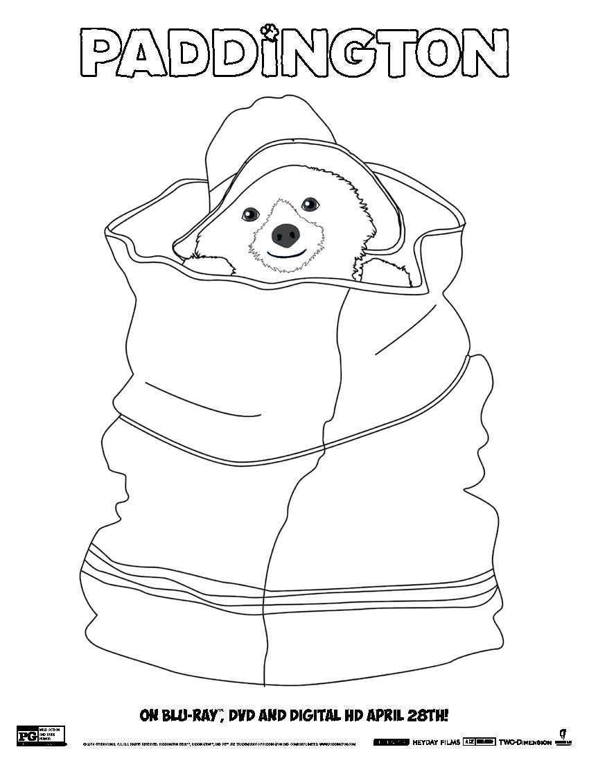 Free Download Paddington Bear Coloring Pages Voices From The Ville Beertje Paddington Kleurplaten