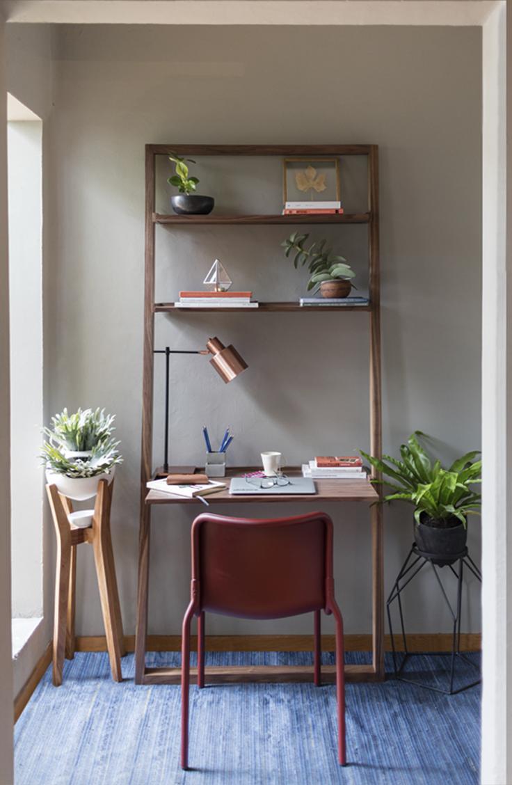 GAIA Design Estudio Home Office Trend Vivir En La Ciudad Urbano Escritorio  Silla Multifuncional Plantas Organizacion