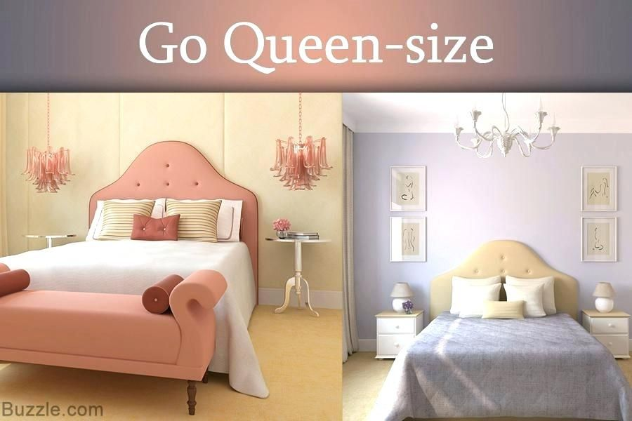Small Room Ideas With Queen Bed Extraordinary Small Room Queen Bed