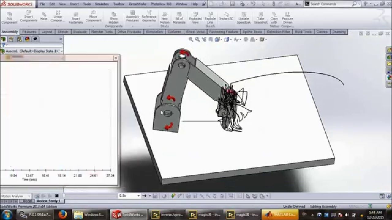 Drawing With A 4 Dof Robot Arm In Matlab Labview And Solidworks 2 Dog Repellent Ultrasonic Circuit Electronicslab