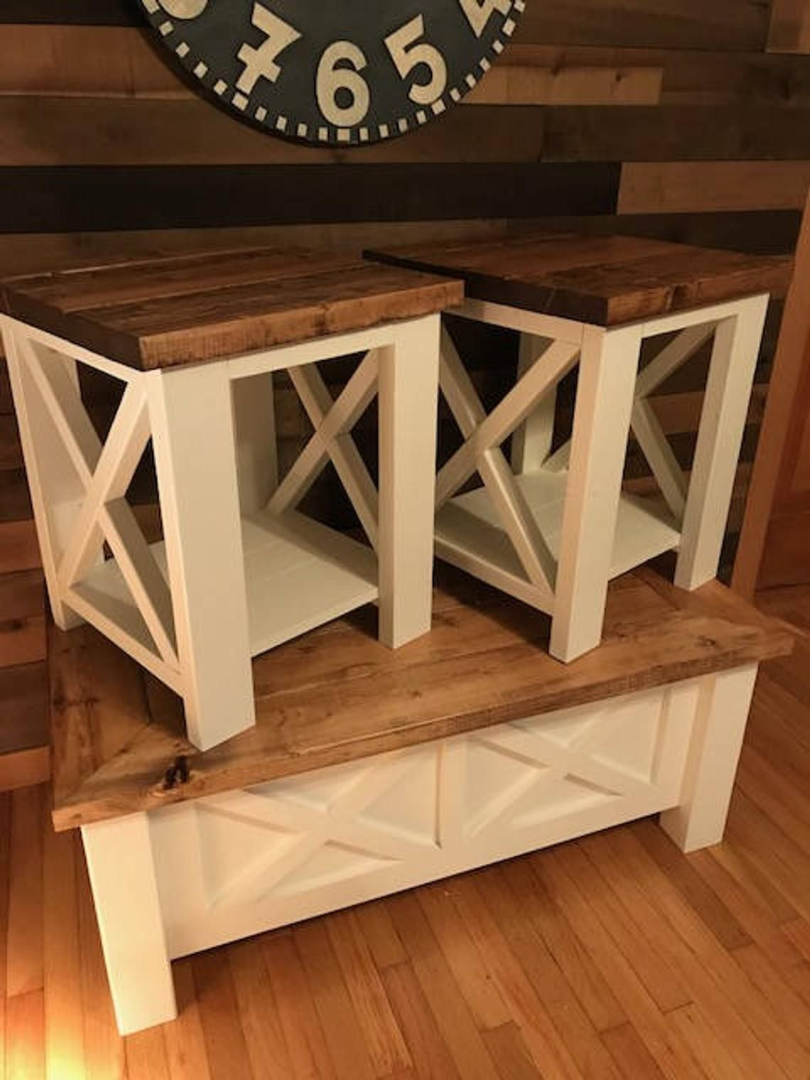 31++ Farmhouse end tables and coffee table best
