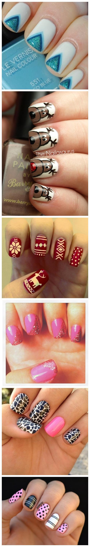 Painted nails uñas pinterest simple nail designs nail art