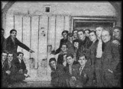 Tourists Visiting The Cellar Room Ipatiev House Romanov Memorial
