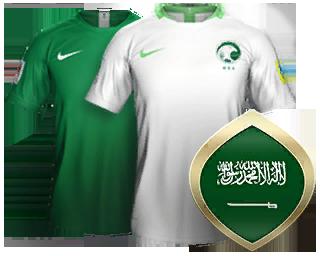 reputable site d3c49 d81d0 Saudi Arabia FIFA 18 World Cup 2018 Kits #worldcup ...