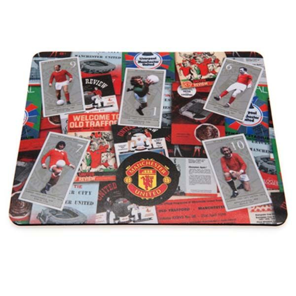 Manchester United F.C. Mouse Mat Retro - Rs. 525 Official #Football #Merchandise from the #EPL