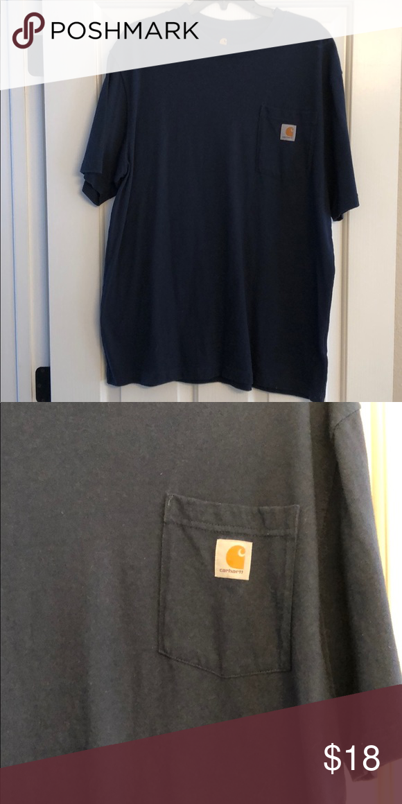 Men's Navy Carhartt Shirt