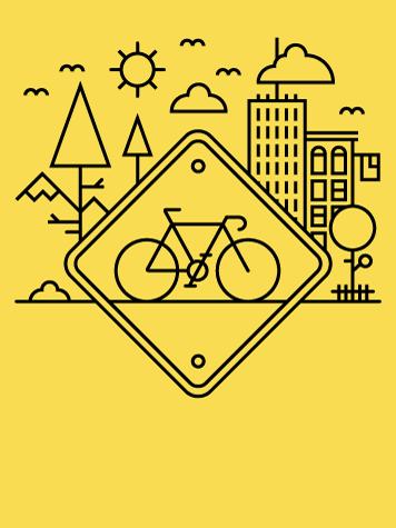 Alex Griendling Sepeda Desain Grafis Grafis