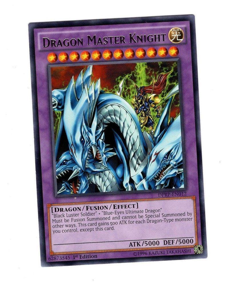 Nm yugioh dragon master knight dprpen012 rare 1st