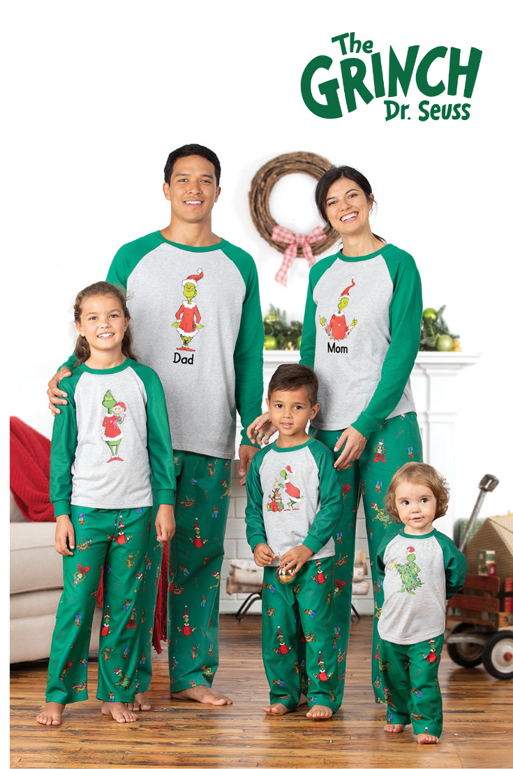 c51ac1307cd0 Dr. Seuss  The Grinch™ Matching Family Pajamas