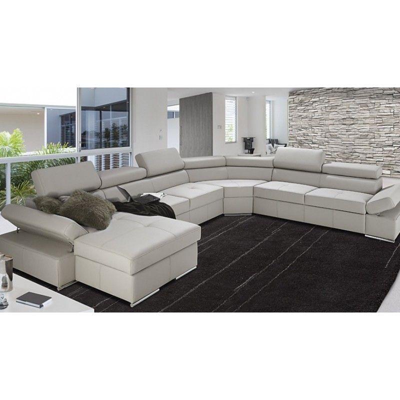 Incredible Lorenzo Modulio U Shaped Modular Sofa With Sleeping Option Uwap Interior Chair Design Uwaporg