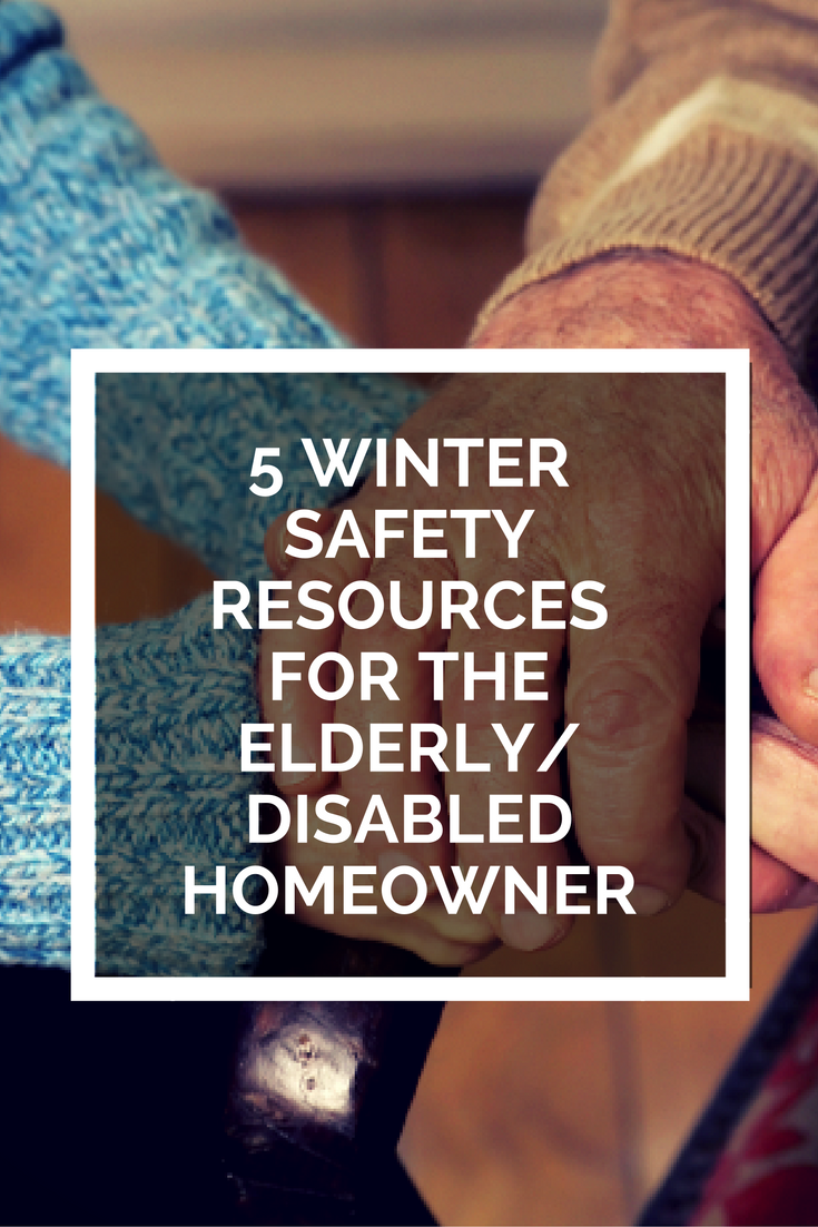 5 Winter Safety Resources for the Elderly/ Disabled